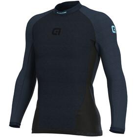 Alé Cycling Klima Fietsshirt Korte Mouwen Heren, black-navy blue